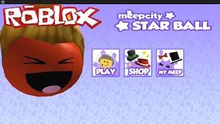 getlinkyoutube.com-I'M A MEEP!! Meepcity Star Ball Obby | Roblox Video