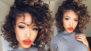 Overnight HEATLESS Curls | Short Hair