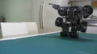 getlinkyoutube.com-Real Transformer NO C.G. Upgrade Version -Humvee Bioloid-