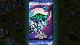 getlinkyoutube.com-NORTH AMERICA PACK - Jurassic World The Game