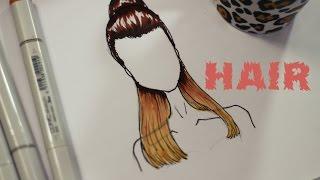 getlinkyoutube.com-TUTORIAL Como Desenhar Penteado - Ariana Grande
