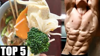 TOP 5 MISCONCEPTIONS ABOUT VEGAN BODYBUILDING