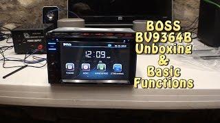 getlinkyoutube.com-BOSS AUDIO BV9364B Unboxing & Basic Function Test.