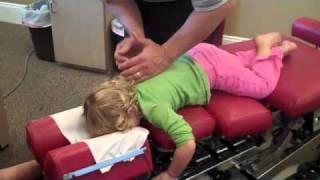getlinkyoutube.com-Dr. Alan Nathans adjusts 2 year old Olivia