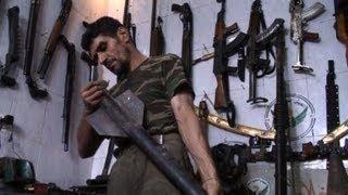 تجارة بيع الاسلحة تزدهر لدى أبو محمد في حلب