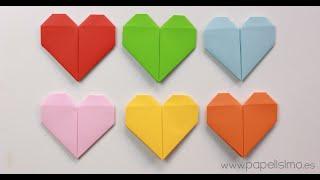 getlinkyoutube.com-Cómo hacer un corazón de papel  (Tarjeta de San Valentín Origami)
