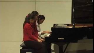 getlinkyoutube.com-Bizet Carmen Overture 6 hands on one piano