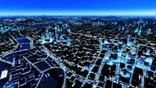 getlinkyoutube.com-Mirrors Edge - DreamScene [Live Wallpaper] - Night Skyline (1080p)