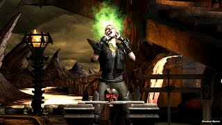 getlinkyoutube.com-Mortal Kombat X All Test Your Might Deaths on Sonya Blade Major Blade Outfit (HD)