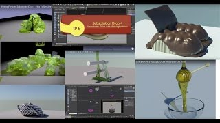 thinkingParticles 6.0 Subscription Drop .1 to 4 Full Feature Video