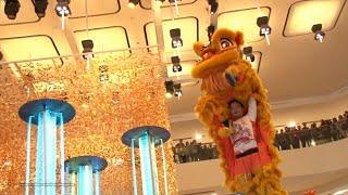 getlinkyoutube.com-Hong Kong Chinese Lunar New Year 2017 - Lion Dance Performance @ Pacific Place
