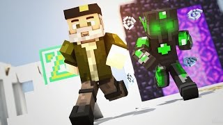 getlinkyoutube.com-SUERTE POR TODO MINECRAFT! | - Willyrex vs sTaXx - Carrera épica Lucky Blocks