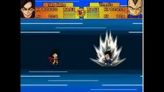 getlinkyoutube.com-Goku vs Vegeta - Dragon Ball : Ultimate ShowDown  -  Free PC Game - RPG MAKER 2003