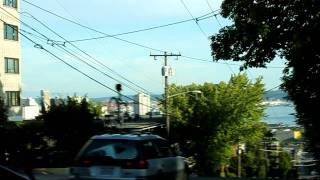 getlinkyoutube.com-Trolleybus Ride Down Seattle's Counterbalance