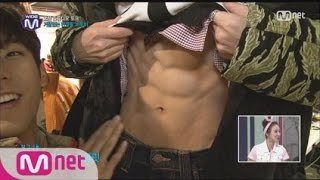 [STAR ZOOM IN] JUNG IL HOON(BTOB) Reveals His Abs Like White Chocolate 151002 EP.33