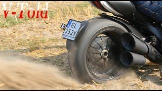2015 Ducati Diavel Raw Exhaust Sound
