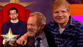 getlinkyoutube.com-Ed Sheeran Doesn't Recognise His Best Mate in the Red Chair! - The Graham Norton Show