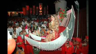 getlinkyoutube.com-New Jaimala varmala Bride entry wedding planner  +91-9799490748 www.marjss.com