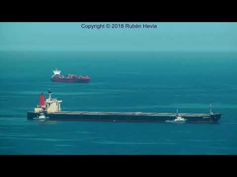 Click to view video Timelapse CAPE STEFANIE IMO 9176113 5BRN3 CYPRUS GIJON HD 18 04 2018