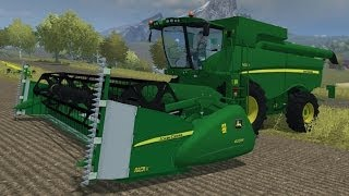 "getlinkyoutube.com-Farming Simulator 2013 Mods -  Combine Harvester ""John Deere S650"""