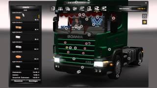 getlinkyoutube.com-Scania 4er Serie 124L Mega Mod ETS2 v.1.8.2.5