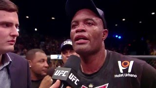 getlinkyoutube.com-UFC 183: Anderson Silva & Nick Diaz Octagon Interviews