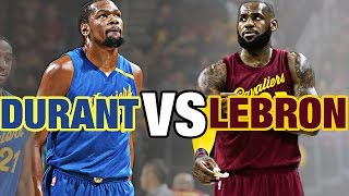 getlinkyoutube.com-LeBron James VS Kevin Durant Epic Christmas Day Duel   |  12.25.16
