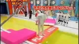 getlinkyoutube.com-Funny Japanese Game Show - Human Tetris