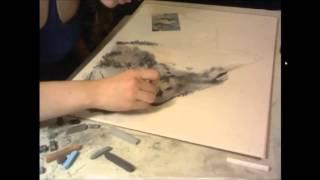 getlinkyoutube.com-Wolves - Timelapse Drawing