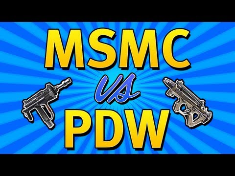 BO2 BEST SMG? PDW vs MSMC Black Ops 2 Weapon Comparision + In Depth Guide (Tips & Tricks)