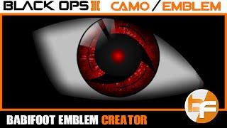 getlinkyoutube.com-Black Ops 3 Emblem Tutorial 087 - Mangekyo Sharingan Itachi #Babifoot