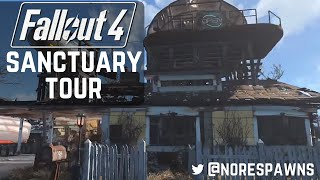 getlinkyoutube.com-Fallout 4 - Detailed Sanctuary Tour (with commentary)