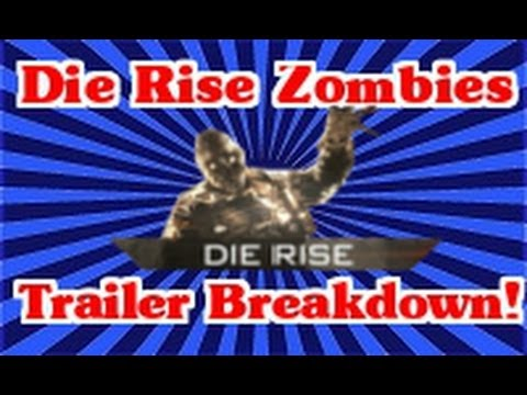 Black Ops 2: Die Rise Trailer Breakdown!! (Hidden Lights and Shooting Stars???)