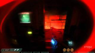 Doom 3: RoE Walkthrough Part 11 HD - Delta Labs - Unknown: Union Aerospace Research Division