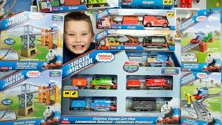 getlinkyoutube.com-Thomas and Friends TrackMaster Train Collection Accidents Happen Thomas the Tank Engine