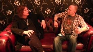 getlinkyoutube.com-John Leven of Europe interview with Rock 'N' Load, O2 Academy Leeds, 8th March 2015