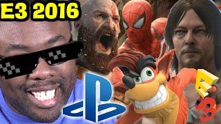 getlinkyoutube.com-SONY PLAYSTATION E3 2016 Press Conference REVIEW