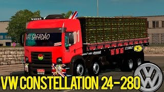 getlinkyoutube.com-Euro Truck Simulator 2 - Mod  Vw Constellation 24-280