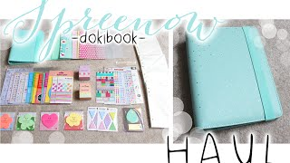 getlinkyoutube.com-HUGE Affordable Stationery/ Planner Haul (Love Doki/Dokibook)