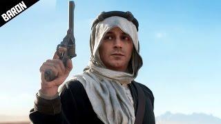getlinkyoutube.com-Lawrence of Arabia, Guerilla Desert Warfare - Battlefield 1 Campaign Gameplay