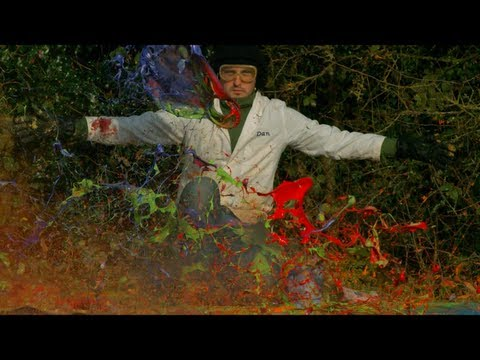 Giant Paint Explosion - The Slow Mo Guys