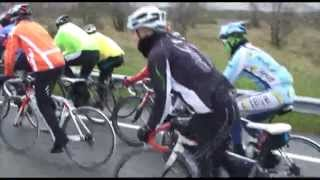 La marcha en bicicleta de carretera Camino de San Frutos resultó un éxito
