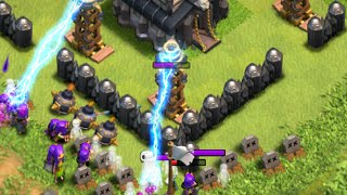Clash of Clans - EPIC TH9 TROLL BASE DEFENSE REPLAYS!