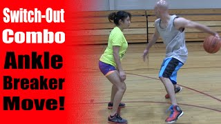 getlinkyoutube.com-The Switch Out Combo - Basketball Moves To Break Ankles - How To: Best Ankle Breakers