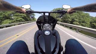 getlinkyoutube.com-2015 Harley Davidson Dyna FXDB GHD Custom Street Bob