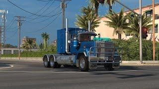 getlinkyoutube.com-American Truck Simulator Little ride with the Mack Superliner 3.0