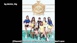 [Eng sub] AOA 3rd mini album heart attack  -Chocolate