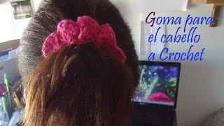 getlinkyoutube.com-Como Decorar Liga para el Cabello Ganchillo (Crochet)