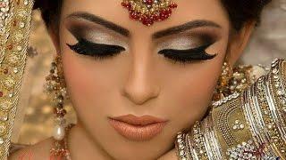 getlinkyoutube.com-❀♡Восточный макияж для карих глаз/Пошаговый восточный макияж❀♡