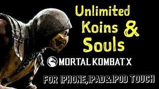 getlinkyoutube.com-how to HACK mortal kombat X  for iphone,ipad & ipod touch unlimitted coins and souls!!